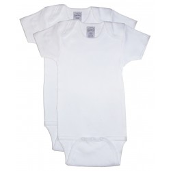 Interlock Short Sleeve Onezie 2-Pack