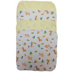Terry Wash Cloth Variety 4-Pack